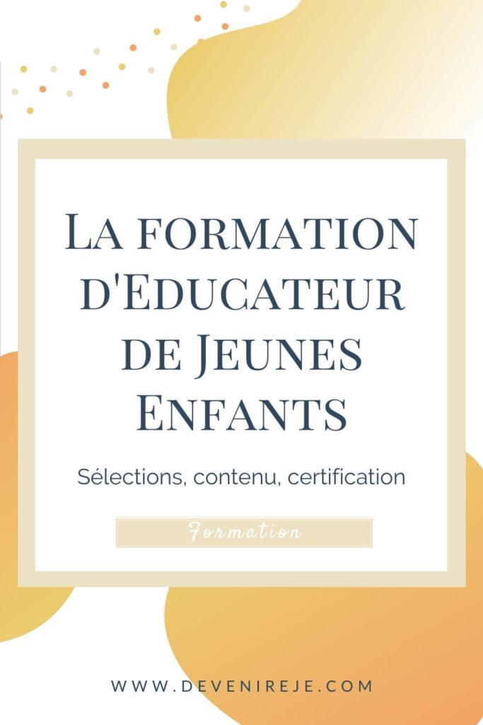 sauvegarde article Formation d'Educateur de Jeunes Enfants