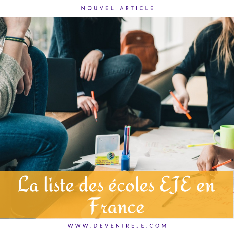 liste écoles d'EJE devenir eje nouvel article