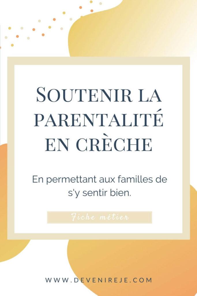 Sauvegarde soutien à la parentalité en crèche