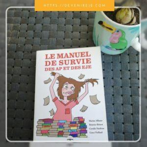 livres étudiante éducatrice manuel survie