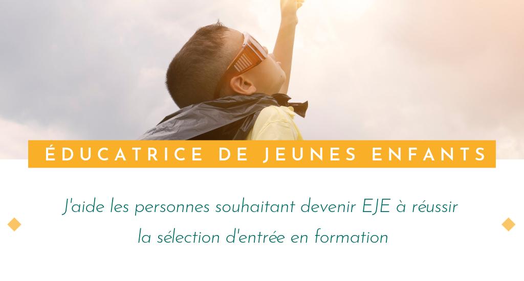 Réussir le concours éducateur de jeunes enfants (EJE)