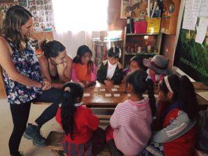 témoignage éducatrice voyage Cuzco enfants