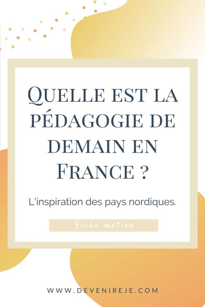 Sauvegarde pinterest la pédagogie de demain en France