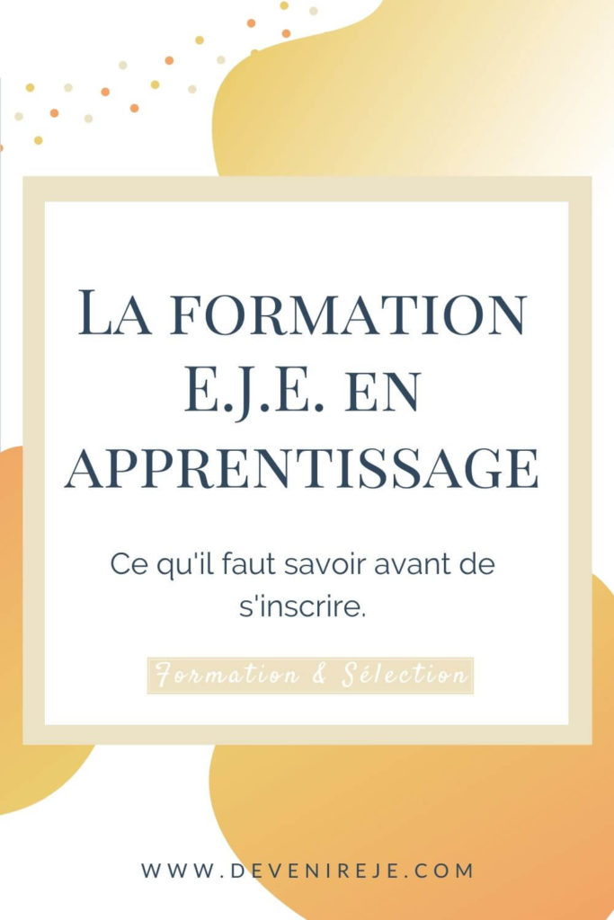Sauvegarde pinterest article formation EJE