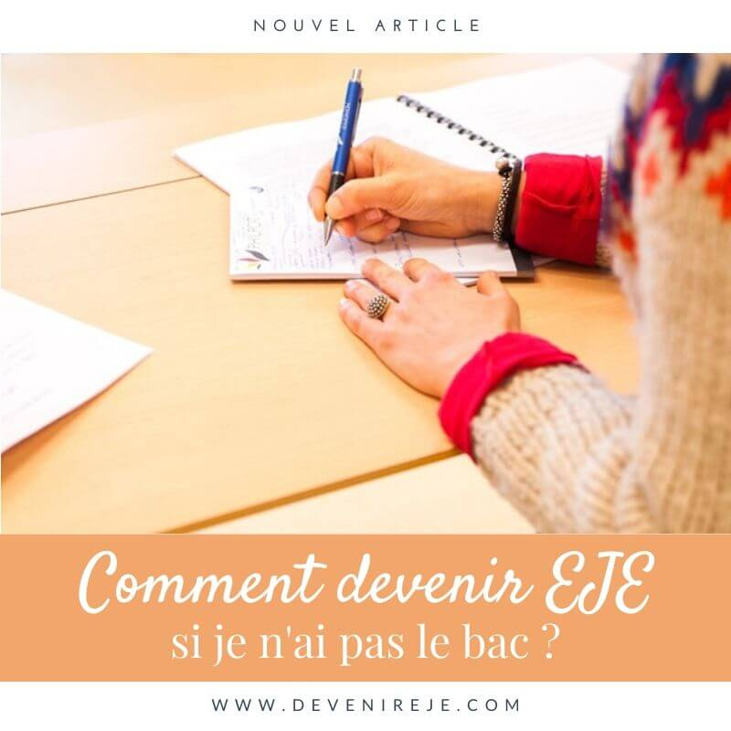 article devenir EJE sans bac