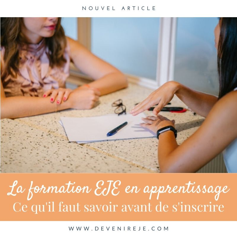 article formation EJE en apprentissage