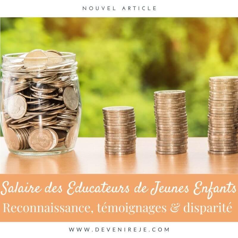 article salaire de l'educateur de jeunes enfants