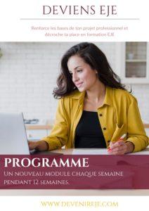 prépa eje en ligne programme