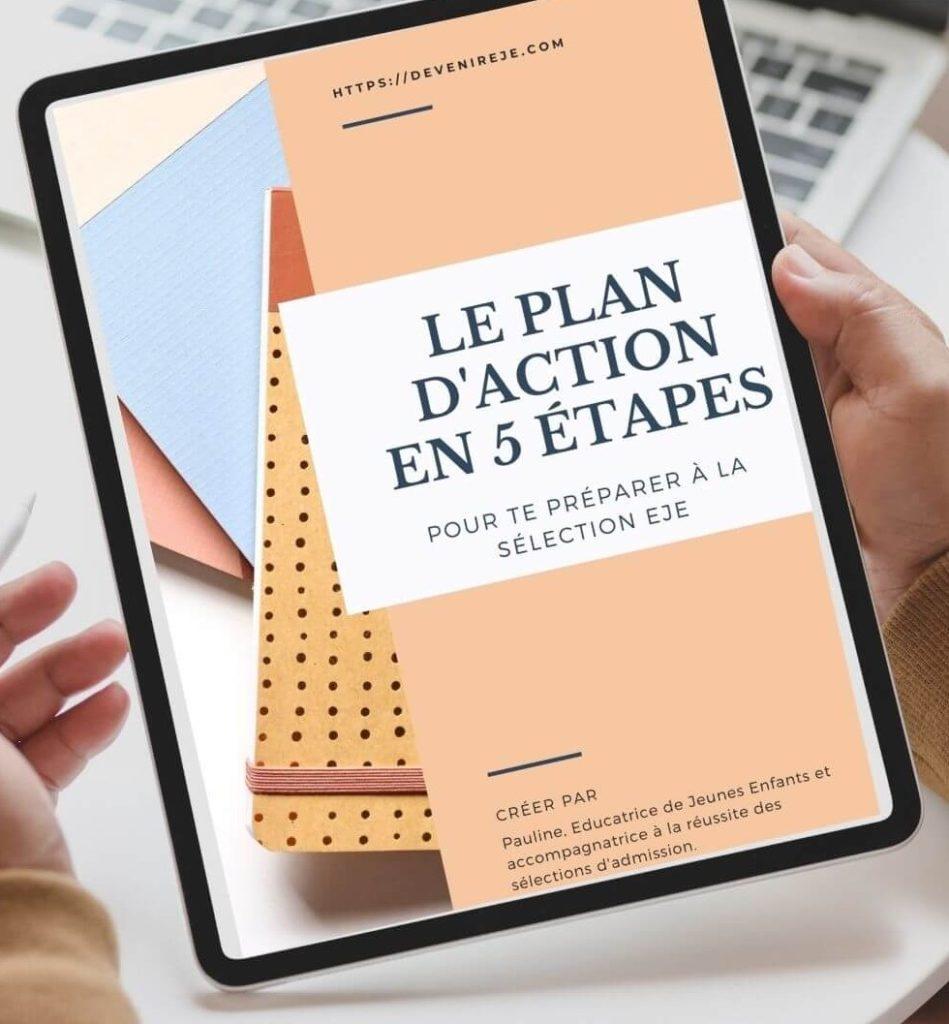 Plan d'action pour se préparer aux sélection EJE