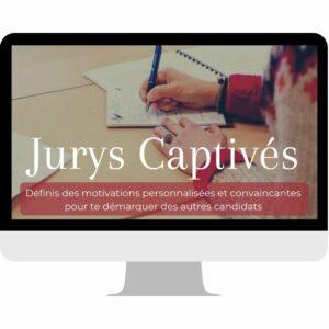 Prépa en ligne EJE Jurys Captivés