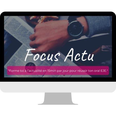 Focus Actu eje